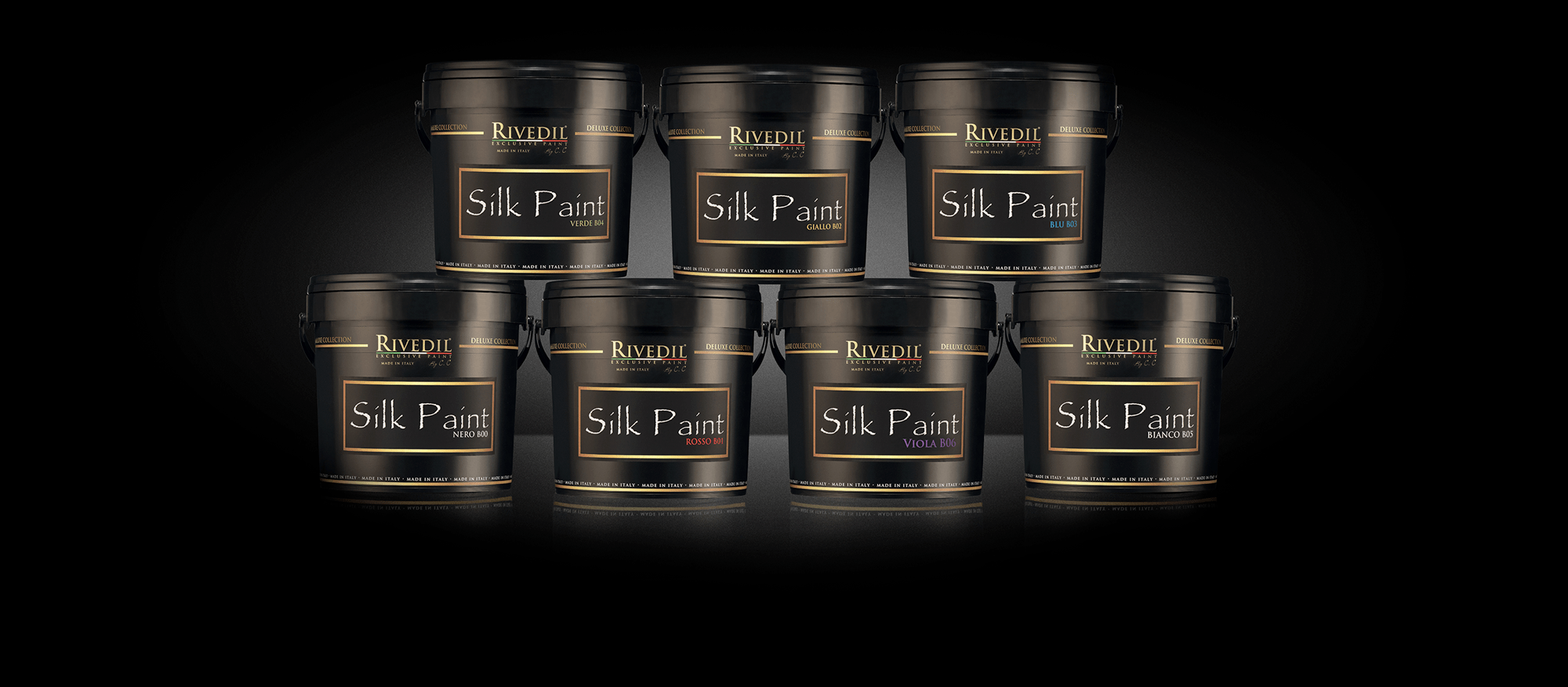 Secchio Silk Paint
