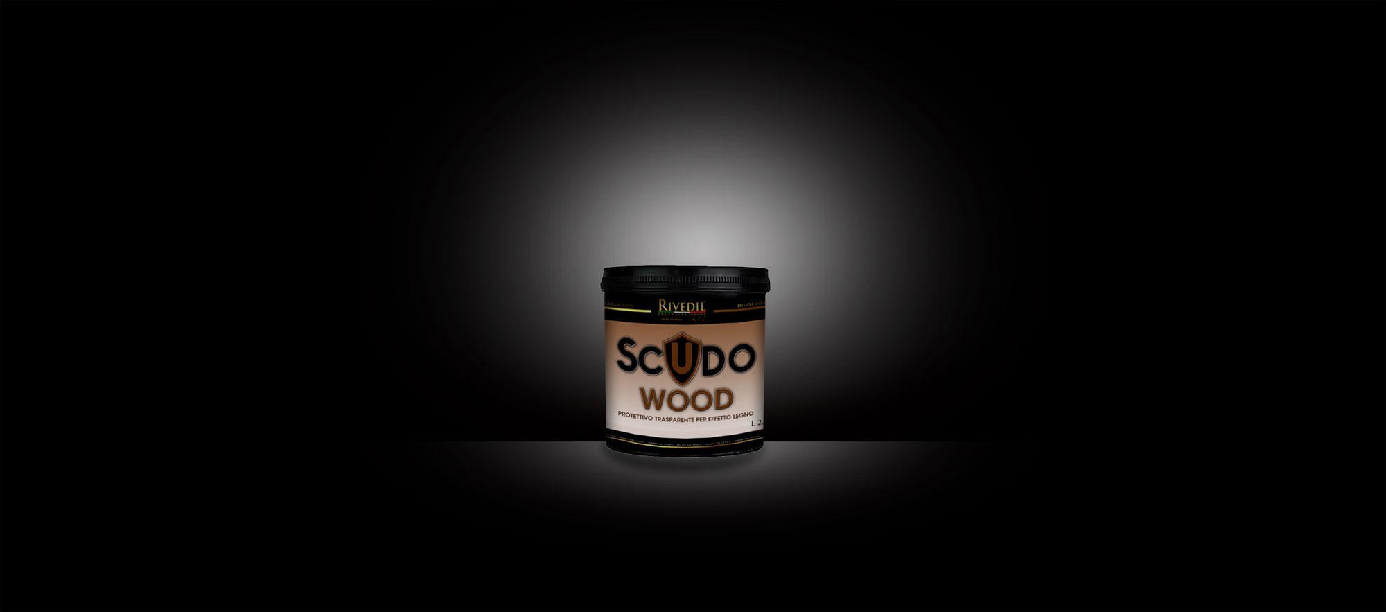 Secchio Scudo Wood